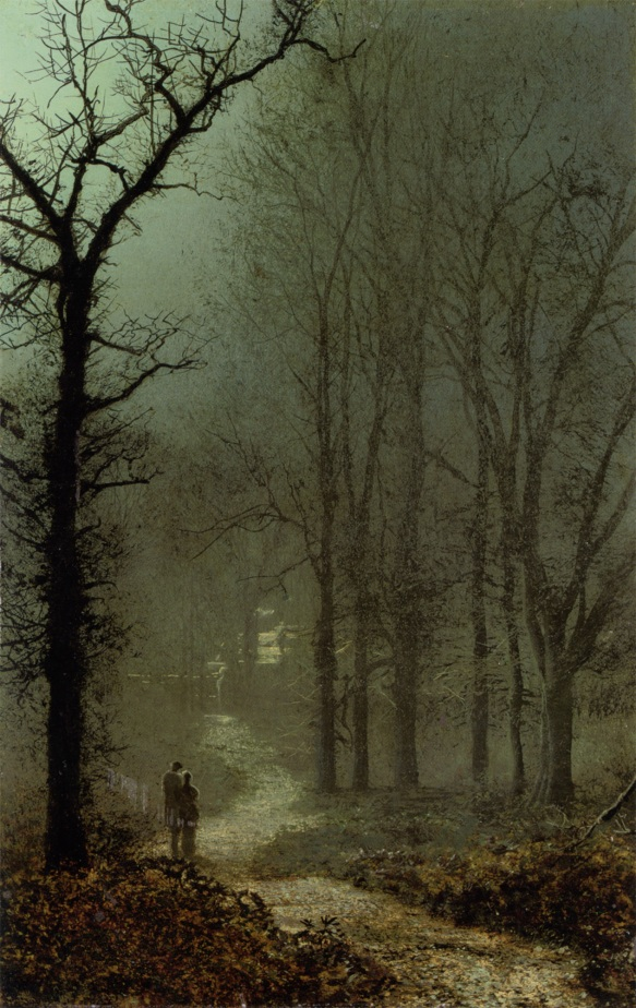 john_atkinson_grimshaw_-_lovers_in_a_wood