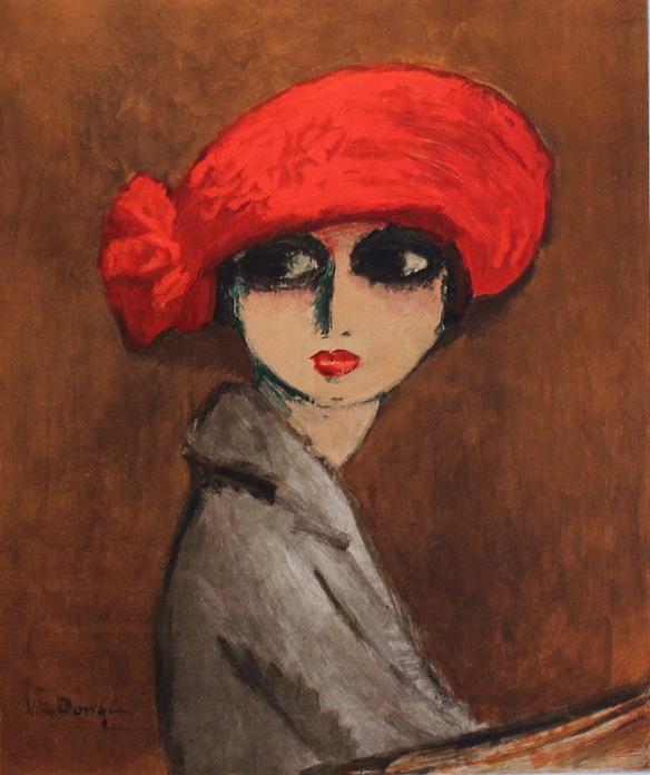 Kees van Dongen (Dutch-French, 1877-1968) - Catherine La Rose (1)