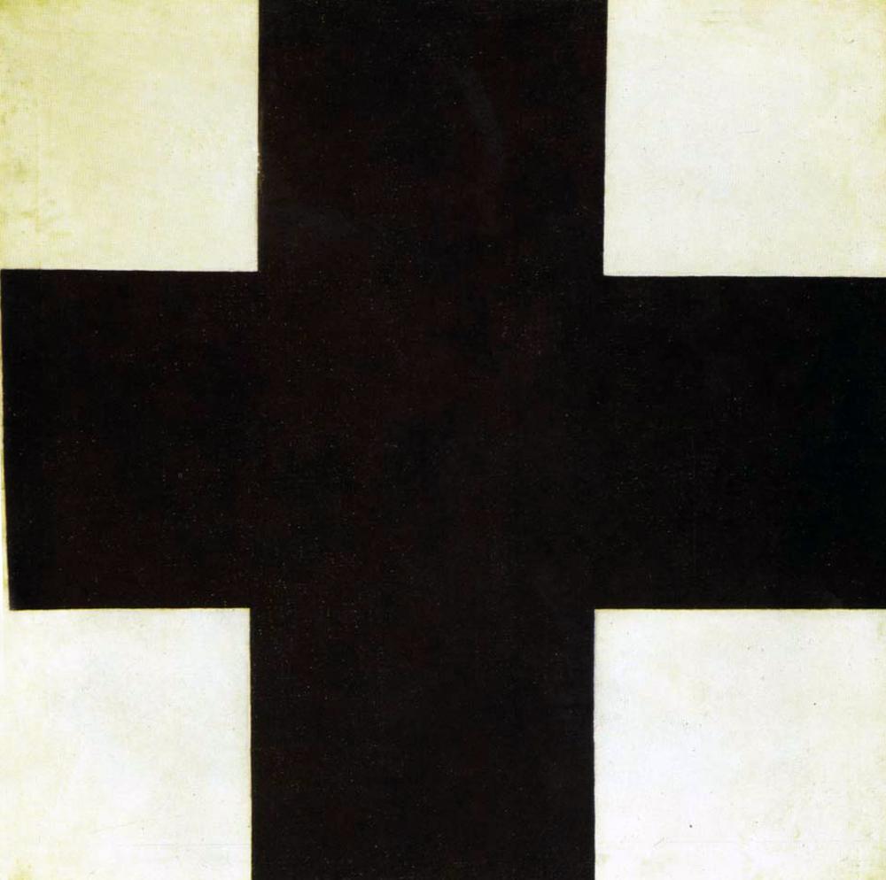 Kazimir Malevich - Black Cross, 1915.