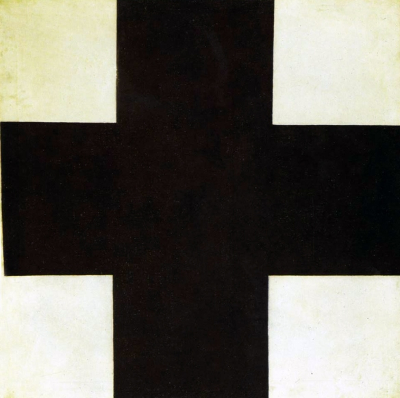 Kazimir Malevich - Black Cross, 1915.