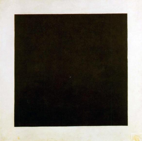 Kazimir Malevich - Black Square, 1915.