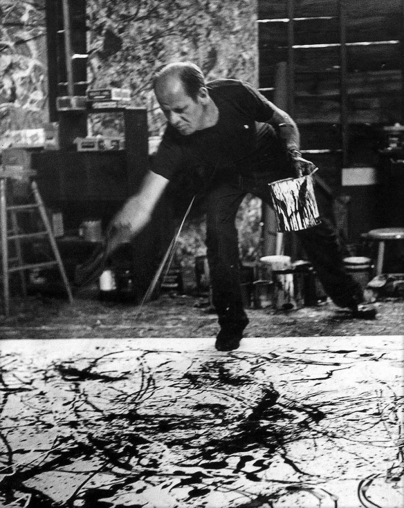 Hans Namuth - Jackson Pollock Painting, 1950.