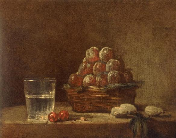 Jean-Baptiste SiméonChardin - Le Panier de Prune
