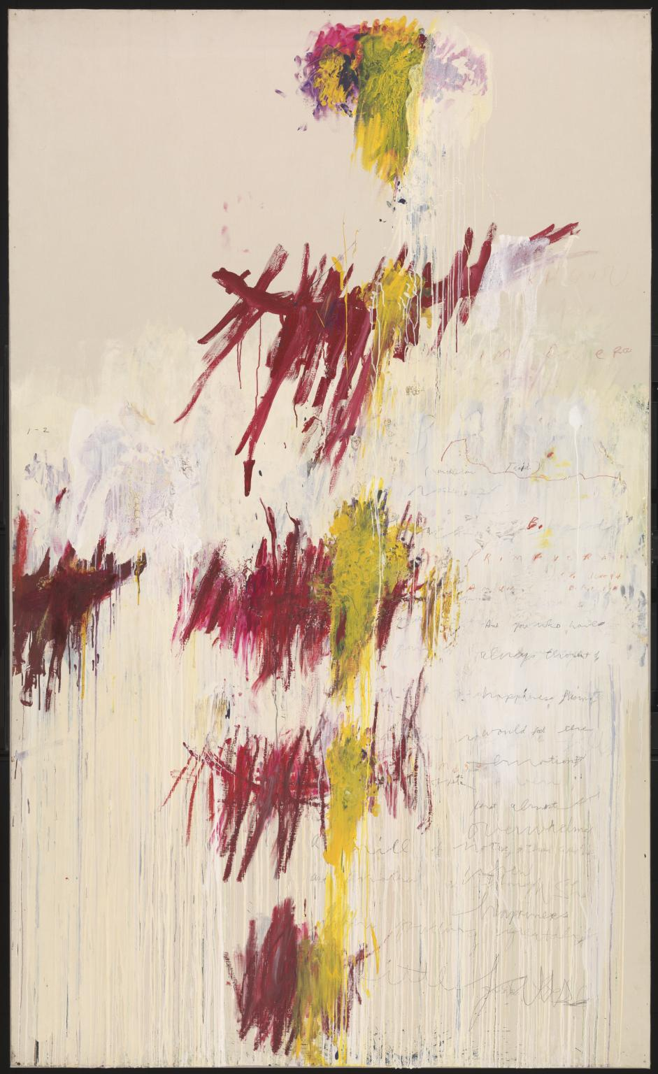 Quattro Stagioni: Primavera 1993-5 by Cy Twombly 1928-2011