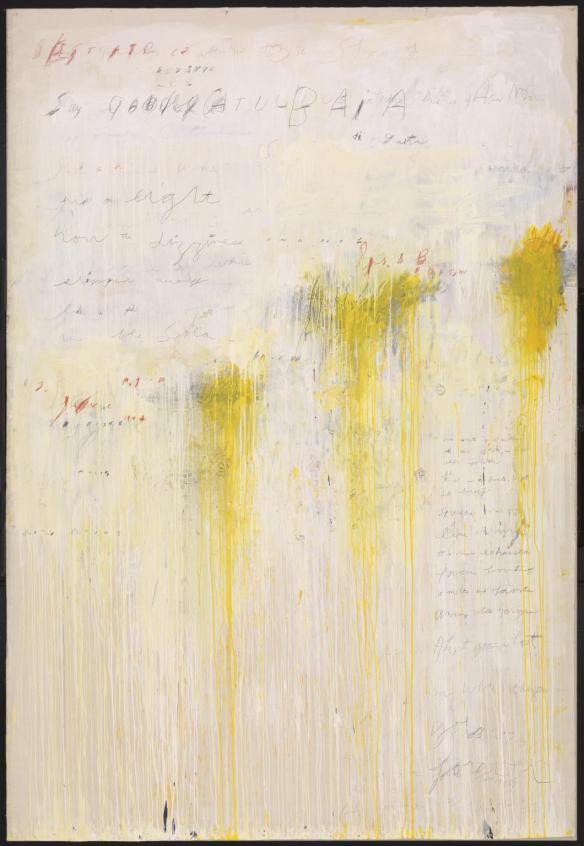Quattro Stagioni: Estate 1993-5 by Cy Twombly 1928-2011