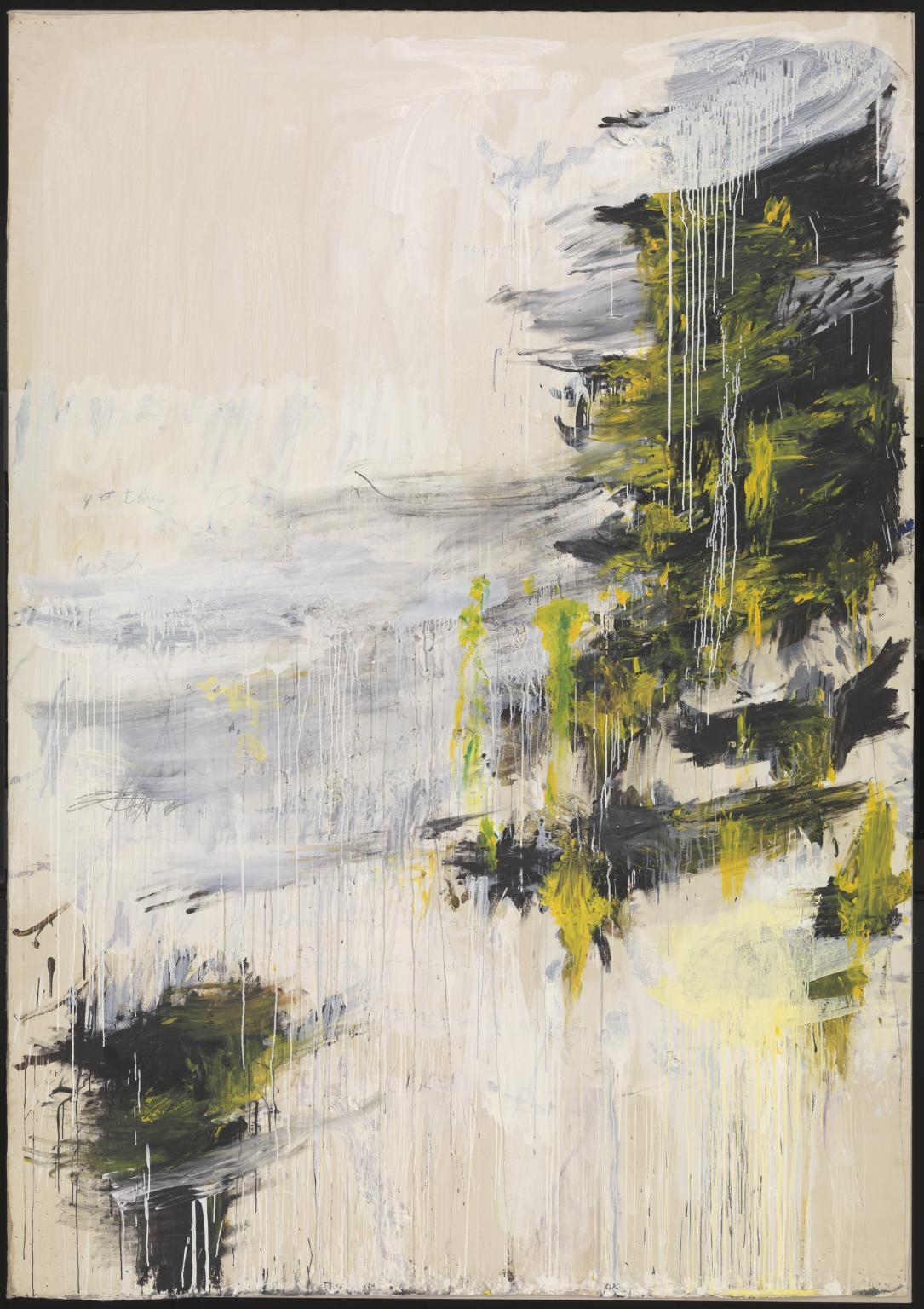 Quattro Stagioni: Inverno 1993-5 by Cy Twombly 1928-2011