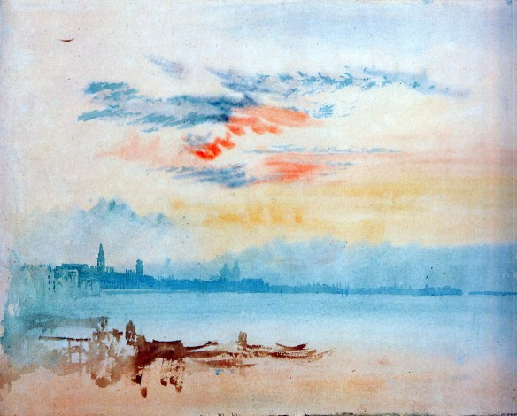 Turner-Joseph-View-to-the-east-from-Giudecca-Sun