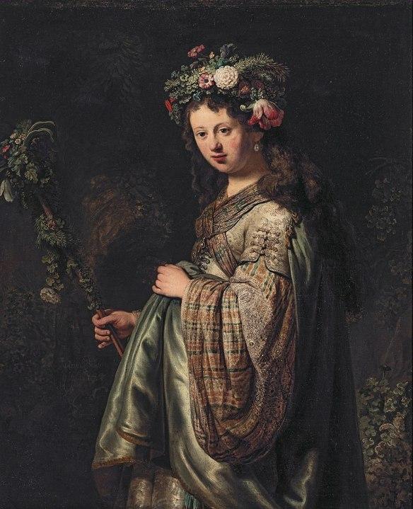 800px-Saskia_van_Uylenburgh_(1612-1642)_as_Flora,_by_Rembrandt