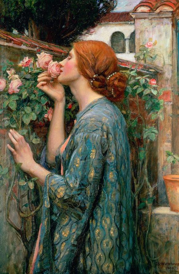 the-soul-of-the-rose-john-william-waterhouse